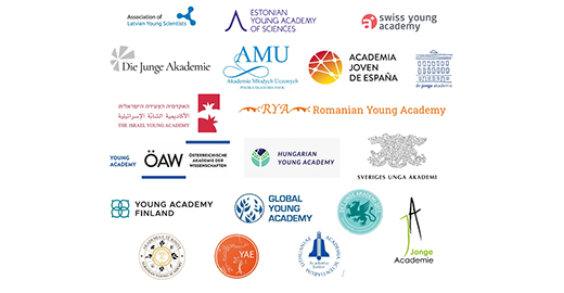 Young Academies' logotypes