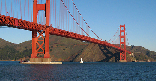 Golden Gate Bridge Photo: Salim Virji/Flickr
